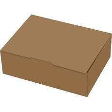 A5 Postage Box Brown