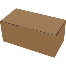 Medium Postage Box Brown