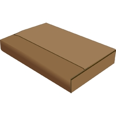 A2 Multi Crease Box - 1 Box 5 Heights (604 x 430mm x 5 Different Heights)